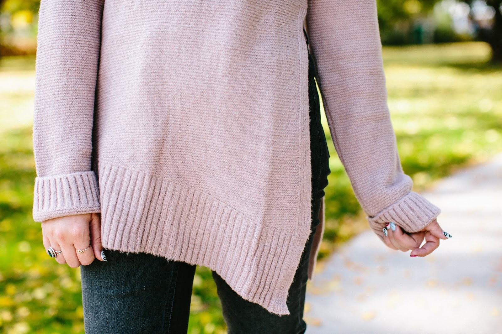 Longline Sweater, Pink Sweater, Long Tall Sally