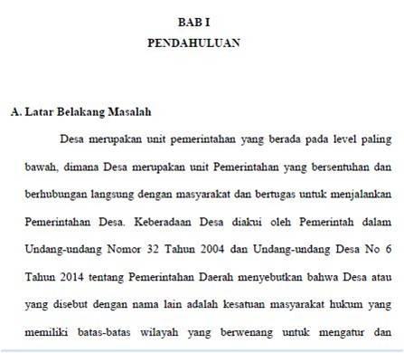 CARA MEMBUAT LATAR BELAKANG MASALAH DALAM PENELITIAN ...