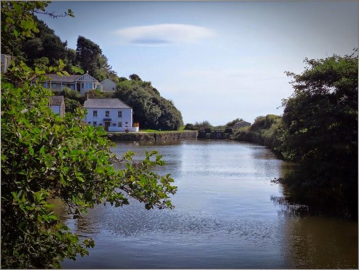 Pentewan Harbour, Cornwall