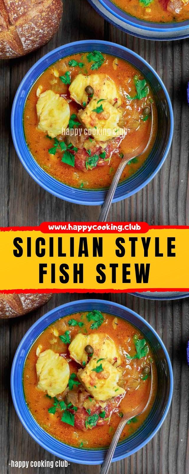 SICILIAN STYLE FISH STEW