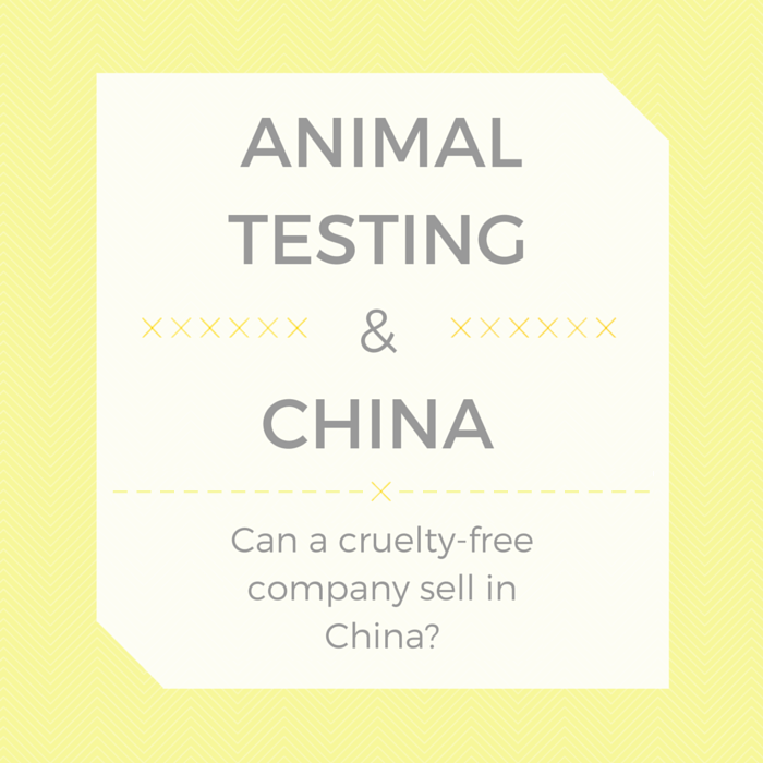 Animal Testing & China | Can a cruelty-free company sell in China without testing on animals?