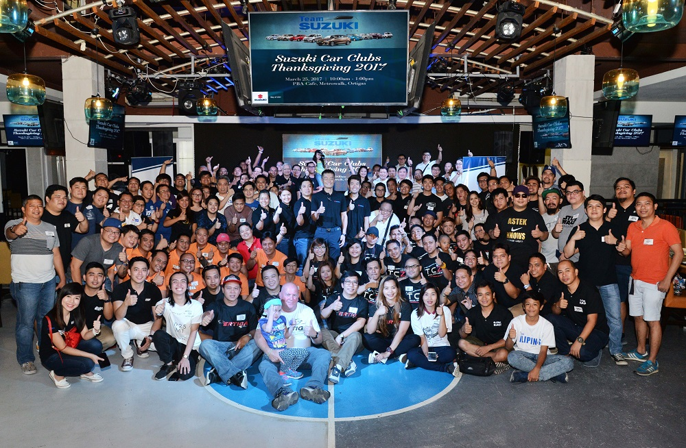 Celebrating success with the growing Team Suzuki Philippines family