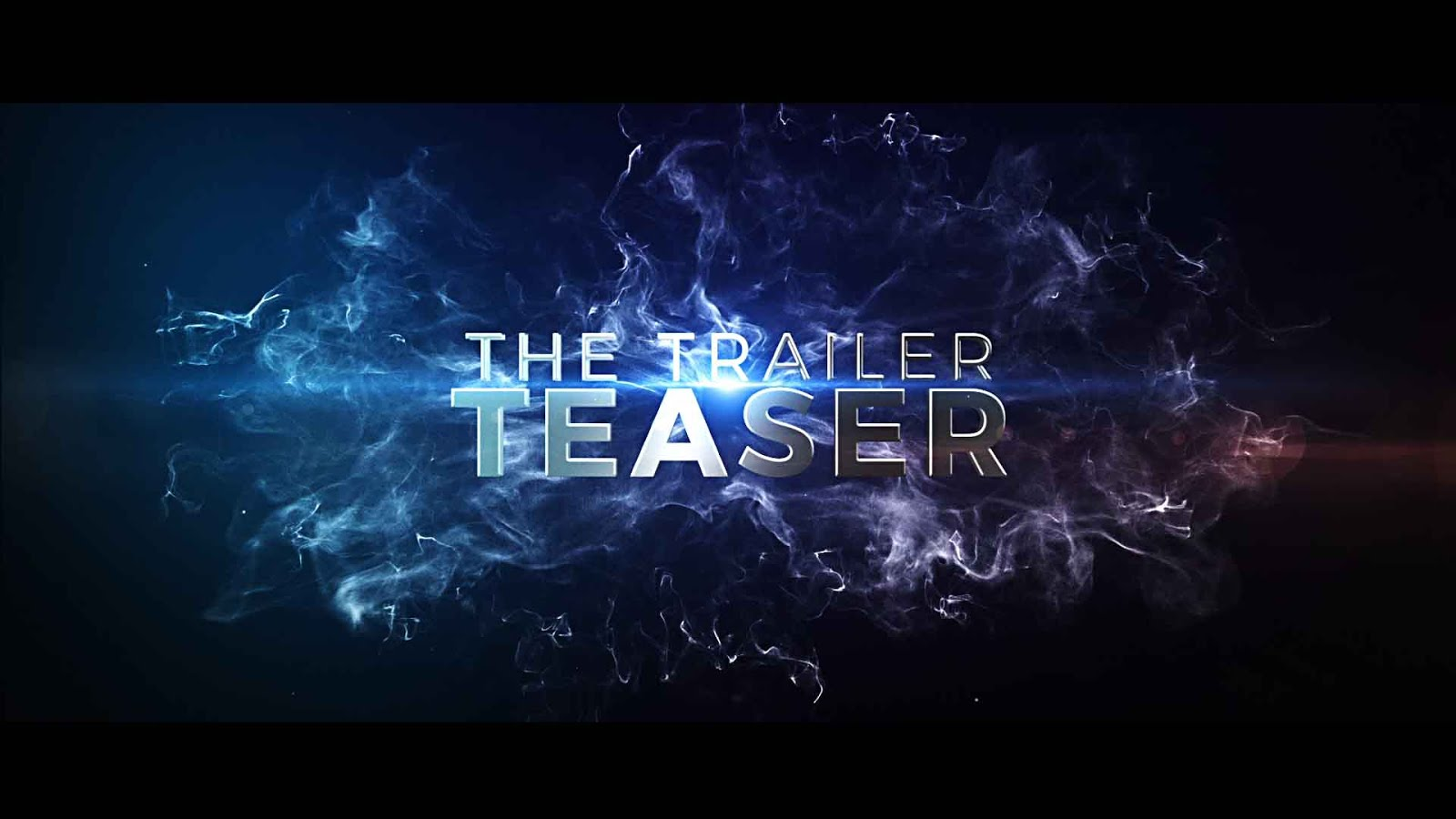 After Effects Template The Trailer Teaser
