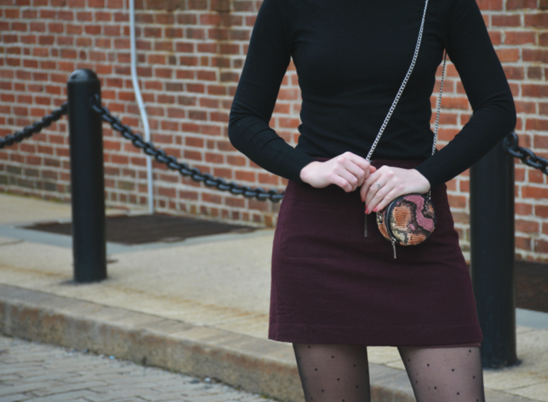 Favorite Color Combo: Maroon and Black | Organized Mess
