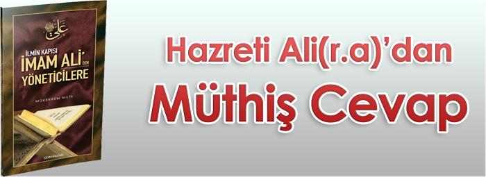11 - Hz.Ali'den Müthiş Cevap