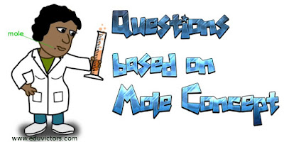 CBSE Class 9 Chemistry - Questions based on Mole Concept (#cbsenotes)(#class9SA2Chemistry)