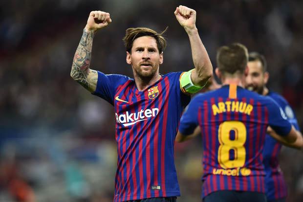ملخص يستحق المشاهدة لمباراة برشلونة واسبانيول 4 0 وتالق ميسي في المقابلة...