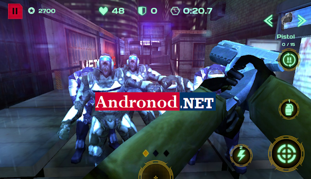 Dead Earth Sci-fi FPS Shooter v2.0 Mod Apk Terbaru