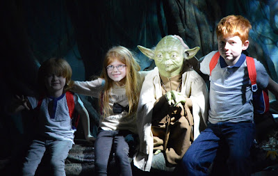 Madame Tussauds London including Star Wars,  A Review - Yoda in Dagobah