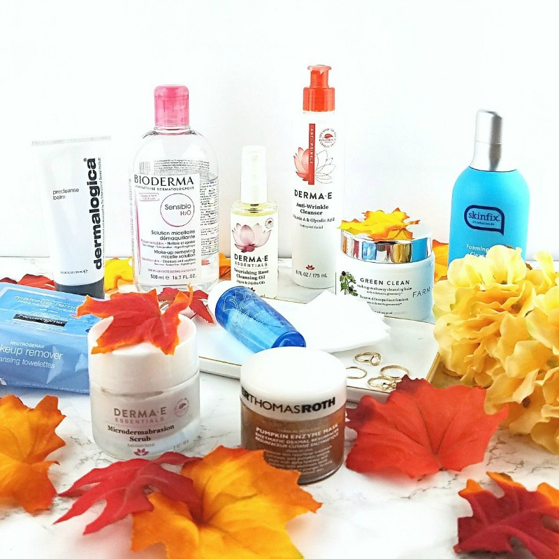 My Fall/Winter Cleansing Routine for Very Dry Skin 5