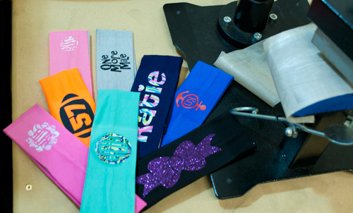 hat press, heat press, heat transfer vinyl, htv, headbands
