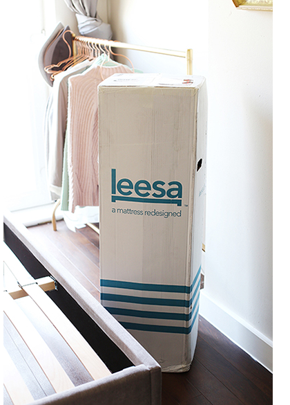 Discovering #BetterSleep with The Leesa Mattress, an affordable luxury in a convenient and innovative package.