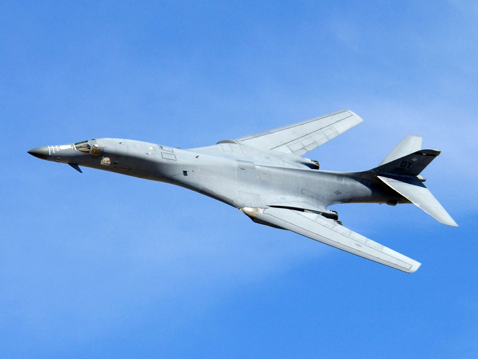 Wallpapers Rockwell B1 Lancer Aircraft
