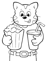 Cute Cats Coloring Pages For Print Download