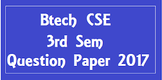 एम डी यू  BTech CSE 3rd Sem Question Papers 2018
