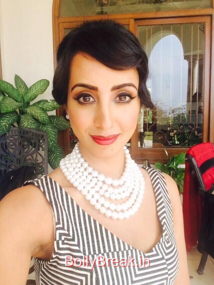 Sanjjanaa Pics, Actress Sanjana Hot Pics in Skirt Dress