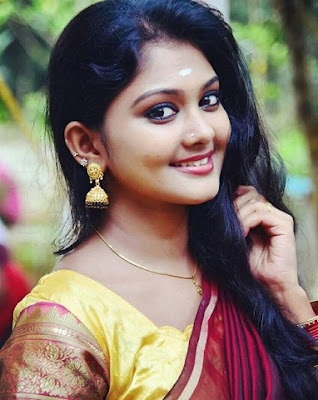 Vindhuja Vikraman - Actress in Chandanamazha Serial as Amrita, replacing actress Meghna Vincent