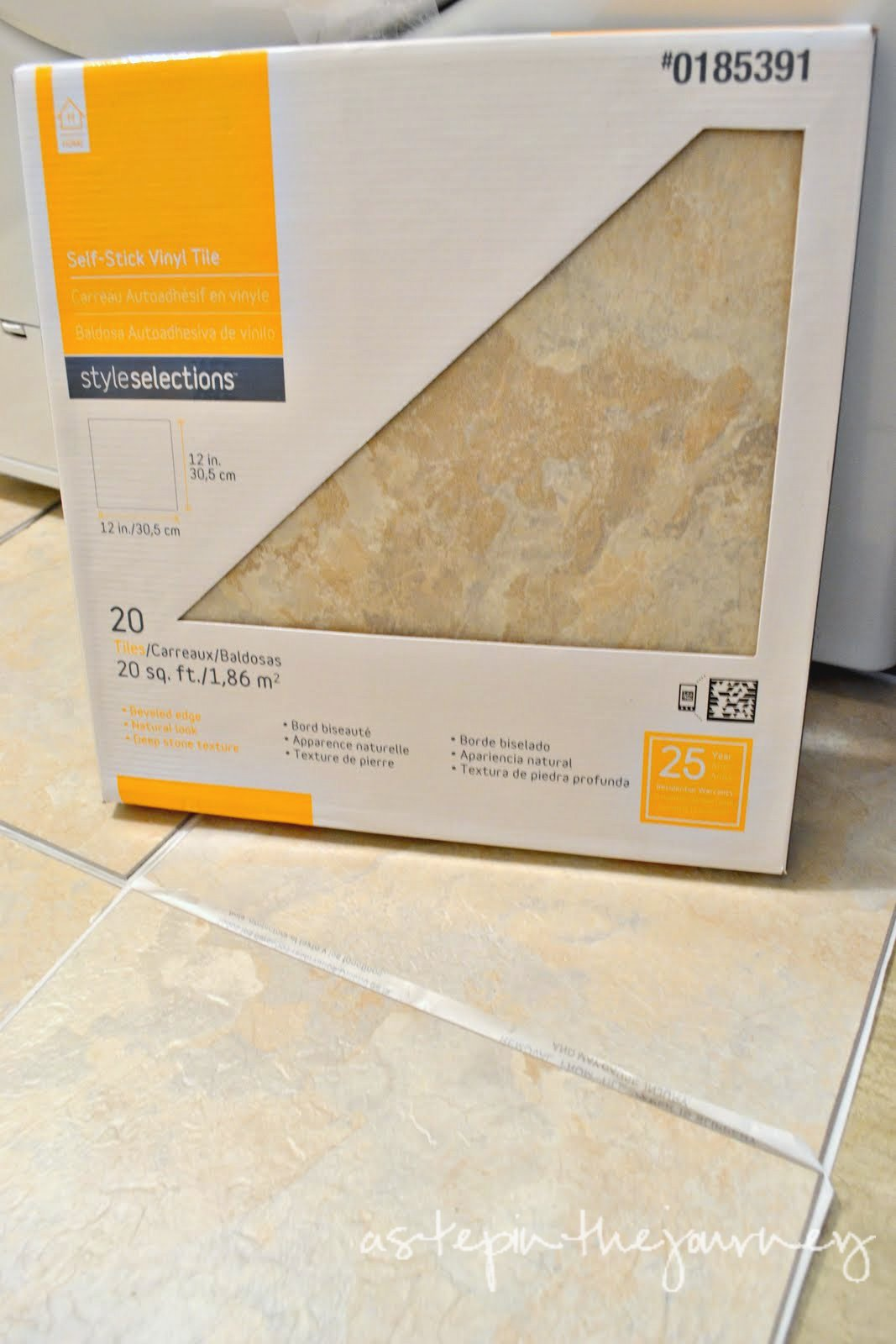 l & Stick Tile = AH.MAZING Mobile Home Cing Floor In Bathroom on
