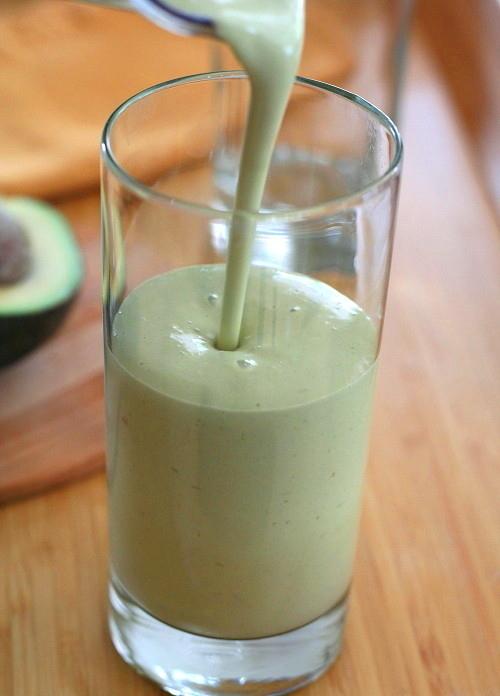 Avocado Green Tea Power shake