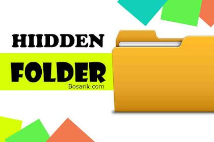 Cara Menyembunyikan Folder dan File Di Windows 10