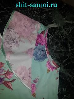 Как обработать рукав платья с крылышками