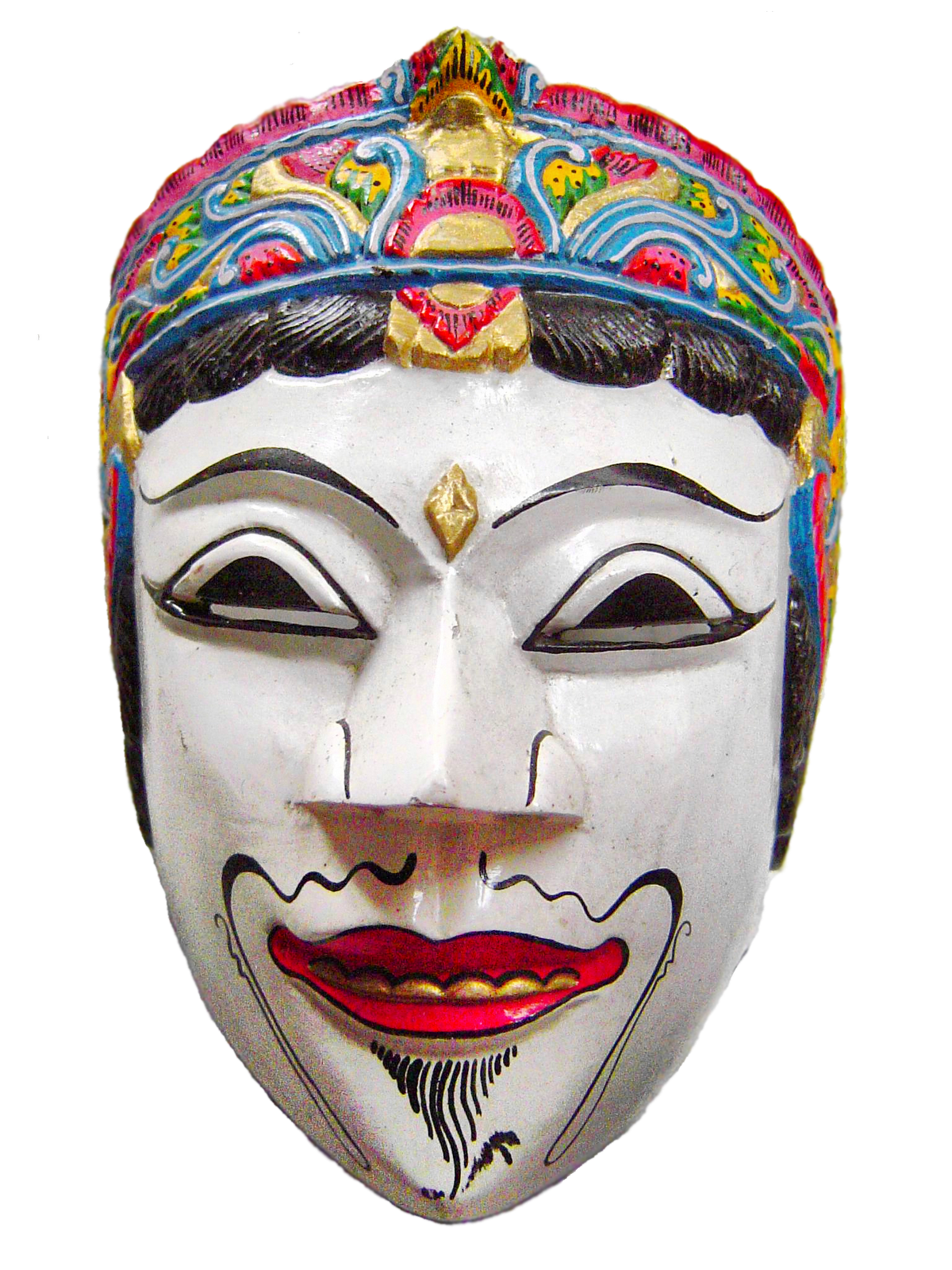 Indonesian Folklore (Folklor Indonesia): The Twin Masks