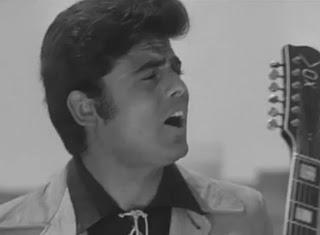 Little Tony in a scene from the 1967 film Cuore Matto (Crazy Heart)