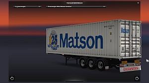 Sommer Maersk & Groenewegen Matson Container Pack