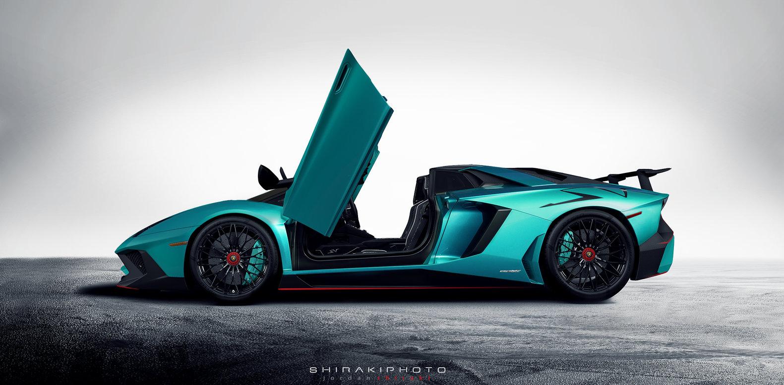 New Lamborghini Aventador Lp750 4 Superveloce Roadster
