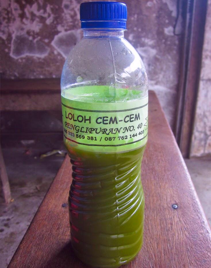 Loloh Cemcem Minuman Khas Bali