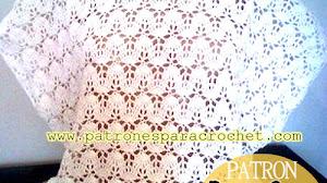 Blusa Crochet con motivo con ondas / Paso a paso