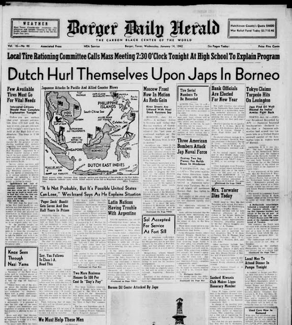 Borger Daily Herald, 14 January 1942 worldwartwo.filminspector.com