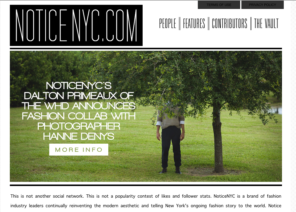NOTICE NYC Press (Part 2)