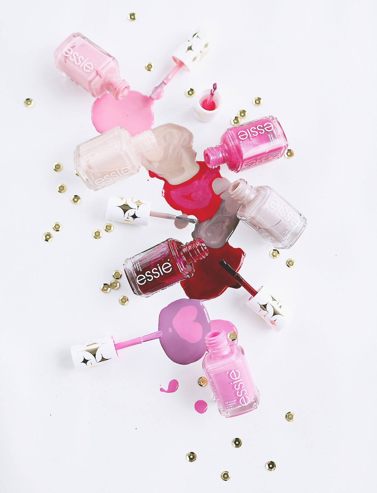 Beauty, Nails, Drugstore, essie retro revival, essie retro revival collection 2017, essie retro revival collection 2017 swatches, essie, essie nail polish, swatches, new essie nail colours, essie 2017, dizzybrunette3