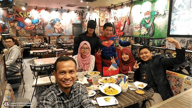 36-Hours Food Trail, DC Comics Cafe, Khir Khalid, Sky Avenue,
