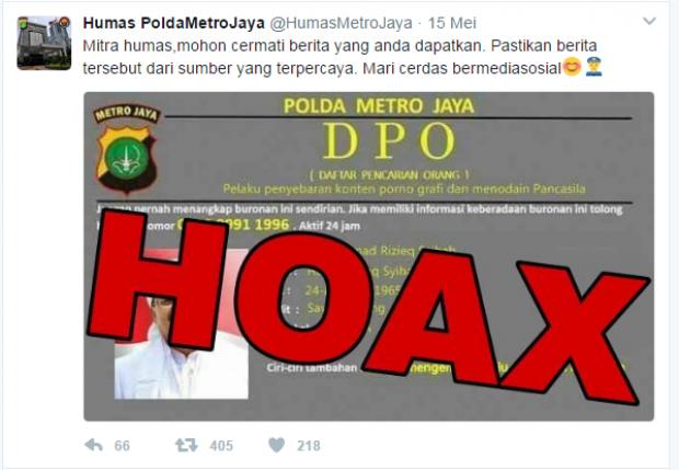 Polisi Klarifikasi Foto DPO Habib Rizieq Hoax, Zuhairi Misrawi Dibully