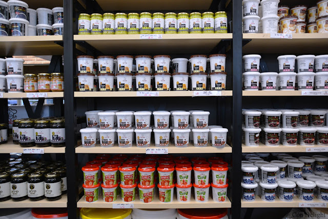 מליות וממרחים פוליבה Poliva spreads and fillings shelf
