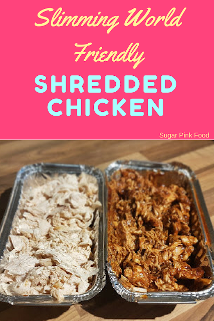 shredded chicken recipe slimming world
