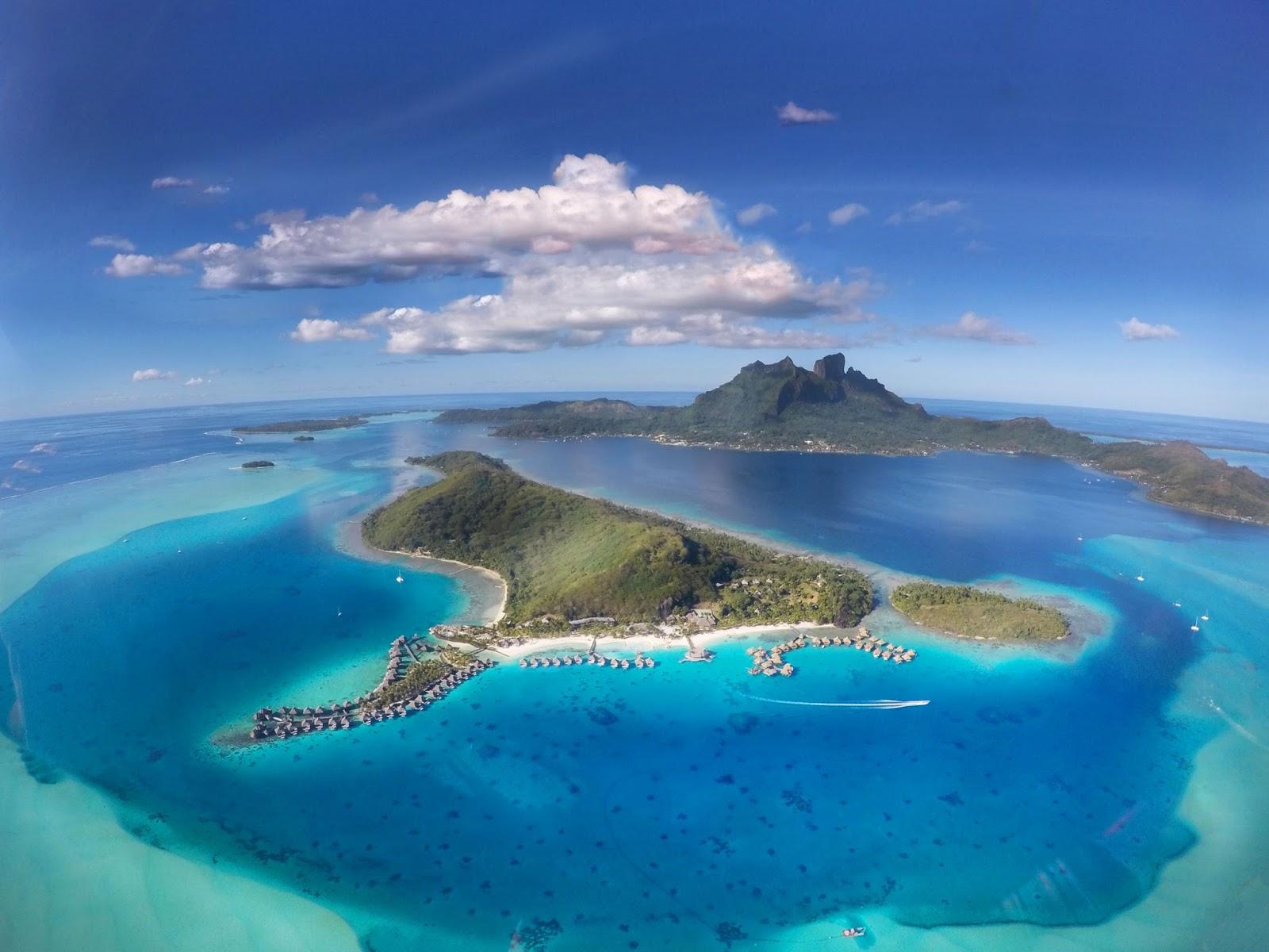 Bora Bora helicopter tour