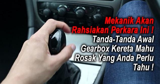Image result for tanda awal gearbox rosak