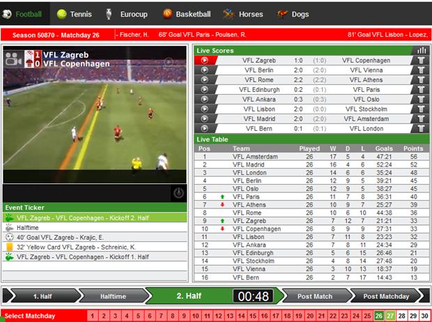 virtual football betting secrets