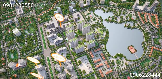 Phối cảnh chung cư AN BÌNH CITY - thành phố Giao Lưu