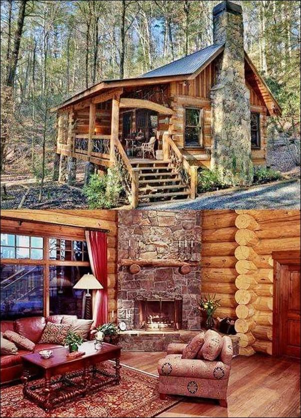 foto casa madeira rustica 30