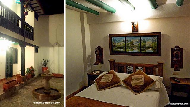 Hospedagem em Villa de Leyva, Colômbia, Hotel Antonio Nariño