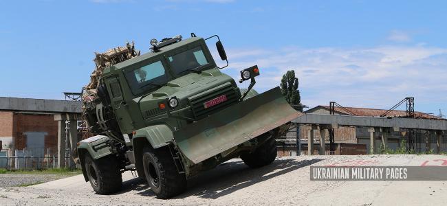 землерийна машина на броньованому шасі КрАЗ-5233НЕ