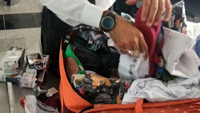 Jamu dan obat kuat yang dibawa jemaah haji asal Indonesia