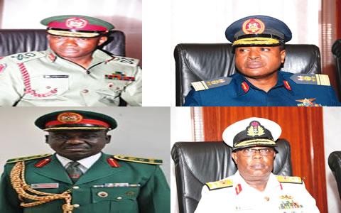 Nigeria Service Chiefs