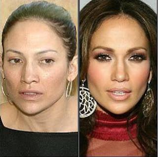 maquilhagem+antes+e+dp+jennifer+lipoez+5 - Famosas Antes e Depois da Maquilhagem