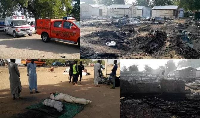 Multiple bombing killed 8 and others injuredinjured in Maiduguri, Borno state
