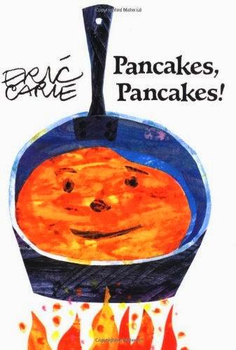 Pancakes, Pancakes, part of children's book review list about fruit
